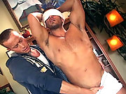 Cody pumps his hot load deep into Sebastian's willing mouth.