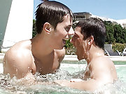 Two BelAmi boys cannot get enough of each other