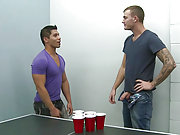 Fraternity boys play and fuck hard in the dorm