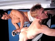 Bryce Colby shows no mercy as he fucks Clark's bubble butt!