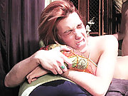 Two very cute twinks roleplaying while making love