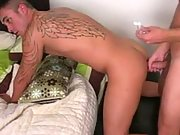 TASTY! Horny boys kissing, sucking and fucking
