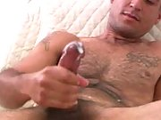 Fresh amateur dude get horny