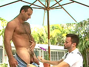 Girth getting fucked by his big-cocked neighbor