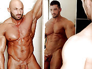 Gay bodybuilders suck and muscle butt fuck doggy