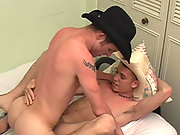 Straight boys fucking like crazy on the couch
