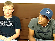 Interracial straight boys go gay for pay