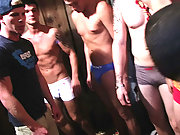 Watch real fraternity tapes of guys doing very gay acts to get accepted!