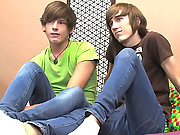 Young twink couple showing us how the work it in the bedroom!