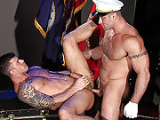 Muscle marines fuck long and hard in the barrack95