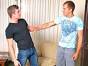 Hot gay studs playing hard to get and surrender !