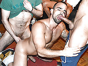 Bang stars Damien Crosse and 4 Hung and Uncut men