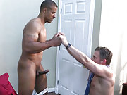 Muscle interracial office players ass fuck hard