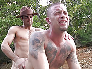 The horny boatman gets fucked by the policeman
