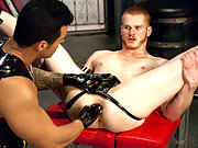 Hot dude craving for more than a toy… he wants a fist!