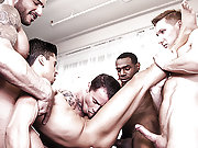 Pedro Andreas Leads Armond And Max Camerons Orgy