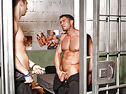 Cody Cummings gets his cock sucked at the prison