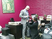 Muscle John Magnum fucks his partner in the office