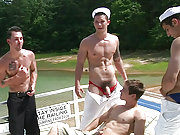 Johnny Rapid and Tommy Defendi fucked by sailors
