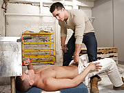 Gay Topher Di Maggio fucks a worker doggy style