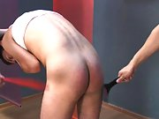Ass spanking makes this twink horny and playfull