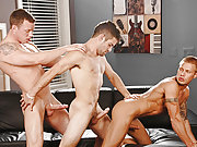 Adam Wirthmore, Brody Wilder and Adam in group sex