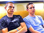 Ryan and Tyler have first gay experience for cash