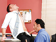 Office players having a dirty sex after lunch