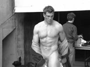 Scottish rugby player Sean Lamont goes fully naked for calendar shoot