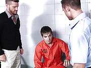 Johnny Rapid gets ass assaulted in the prison