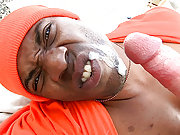 Thug gets fucked and face covered with hot cum