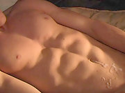 Dick-rubbing action with hot young stud Tory Mason on camera