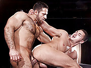 Muscle Marc Dylan is getting screwed by a stud