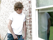 Young neighbour spying on the naked Johnny Rapid