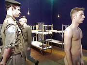 Military recruits forced to fuck by the sergeant
