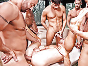 Hot Jed Athens Takes Bareback Double Penetration