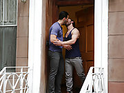 Gay Jarec Wentworth and Mike Gaite kiss and fuck